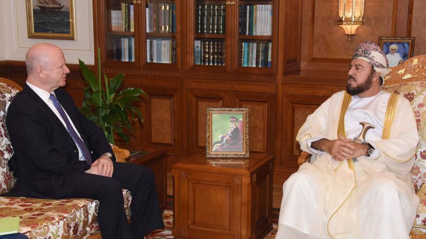 السيد أسعد يبحث مع السفير الأمريكي سُبل التعاون المشترك