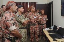 """انطلاق التمرين العسكري العماني البريطاني المشترك """"السيف السريع 3"""""""