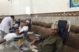 حملة تبرّع بالدم لفريق الطيخة الرياضي