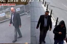 شاهد.. أول فيديو لرجل الأمن السعودي أثناء انتحاله لشخصية خاشقجي بعد مقتله