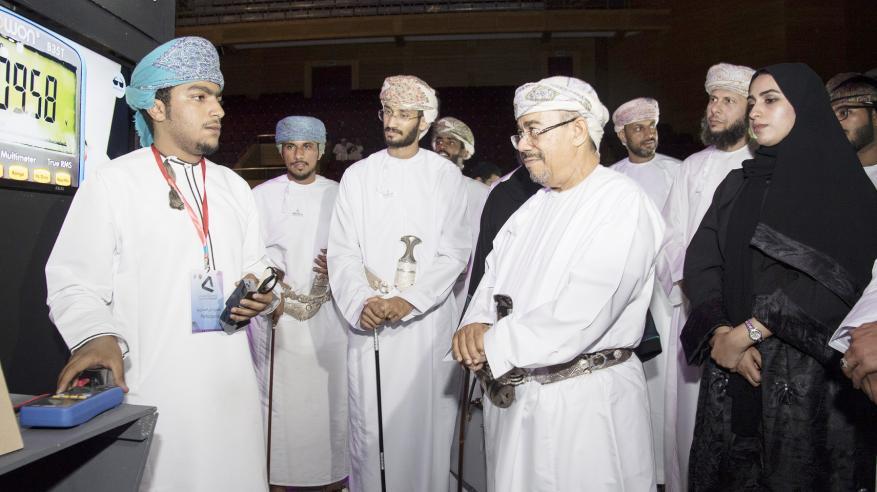 27 مشروعاً في المهرجان العلمي السابع عشر بجامعة السلطان قابوس