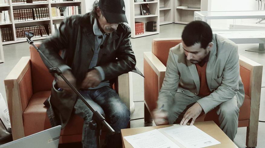 """توقيع اتفاقية تعاون بين """"الكتاب والأدباء"""" وجامعة المبدعين المغاربة"""