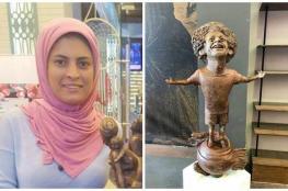 بالفيديو والصور.. تمثال محمد صلاح بمنتدى شباب العالم يثير ضجة