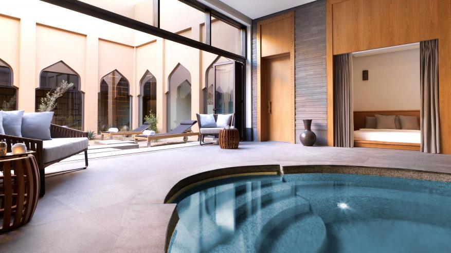 Anantara Spa - Mens Spa Relaxation Area