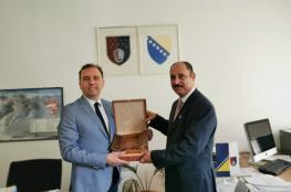 وفد عماني يبحث تعزيز التعاون التجاري مع وزير الاقتصاد البوسني
