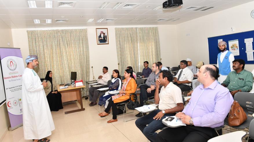 تواصل تنفيذ البرنامج التدريبي المكثف حول السكري لأطباء القطاع الخاص
