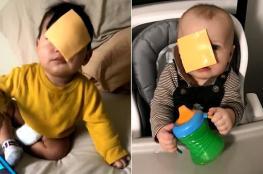 """بالفيديو.. """"تحدي الجبنة"""" يشعل السوشيال ميديا"""