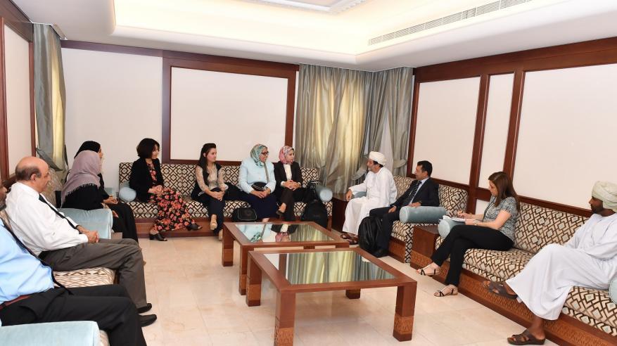 وفد مغربي يطلع على تجربة السلطنة في مجال صحة الأذن