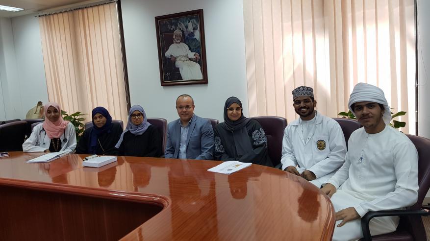 انطلاق مسابقة اختيار أفضل كلية رياضية بجامعة السلطان قابوس