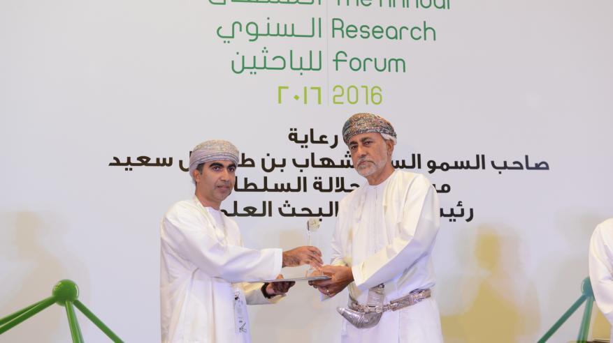 """شهاب بن طارق يرعى اليوم إعلان البحوث الفائزة بالجائزة الوطنية للبحث العلمي.. ويدشن منصة """"إيجاد"""""""