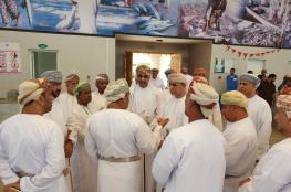 الساجواني يتفقد المشاريع السمكية في صحم وصحار وشناص