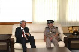 """نائب رئيس الوزراء السنغافوري يزور """"الجمارك"""""""