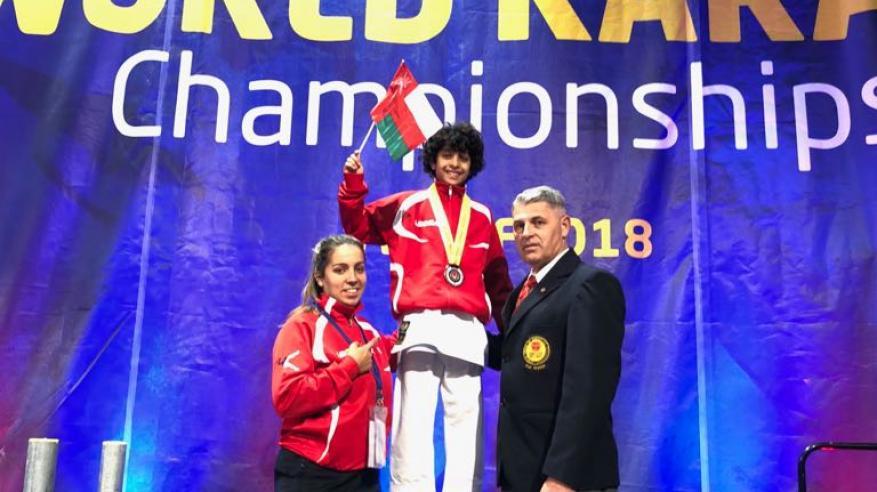 هشام البوسعيدي يتوج بذهبية البطولة العالمية للكاراتيه بأسكتلندا