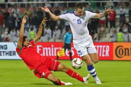 منتخبنا يخسر أمام أوزبكستان في الوقت القاتل