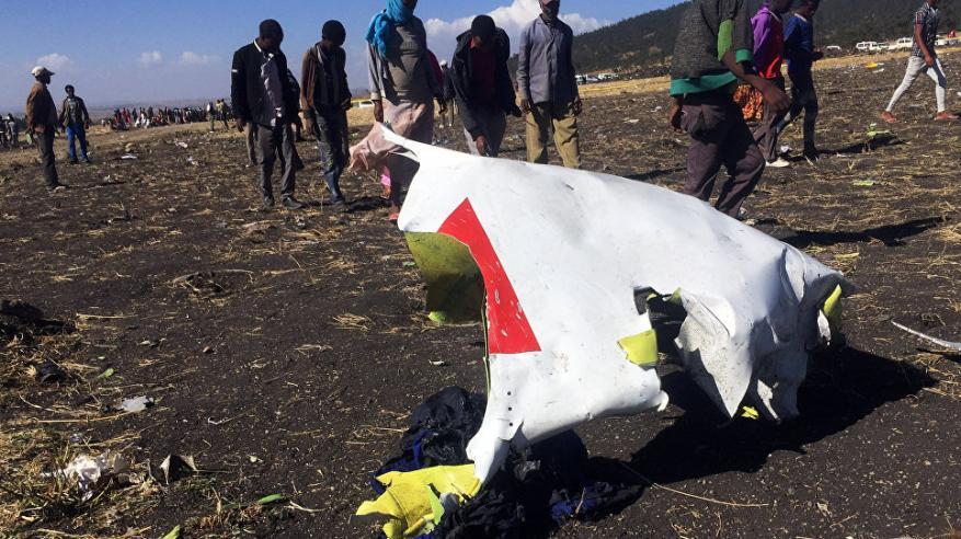 كشف سبب سقوط الطائرة الإثيوبية المنكوبة