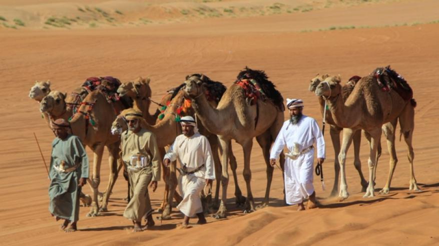 """انطلاق قافلة """"حداء الصحراء"""" لاكتشاف جمال السلطنة"""