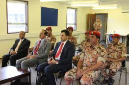 النبهاني يزور فريق قوات السلطان المسلحة للرماية المشارك في بطولة بيزلي