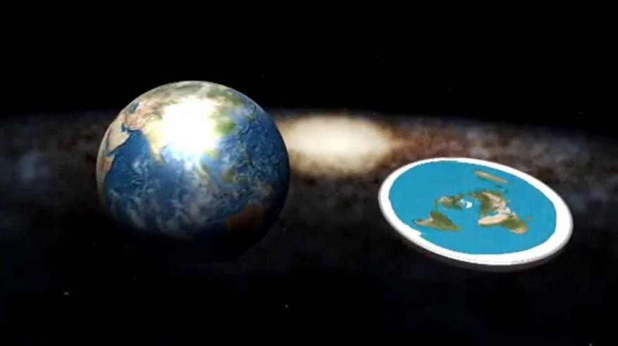هل الأرض مسطحة أم كروية؟