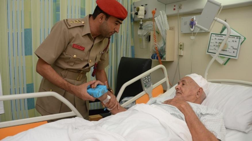 زيارات للمرضى بمستشفى القوات المسلحة