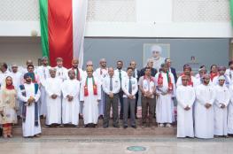 الجامعة الوطنية تحتفل بالعيد الوطني المجيد