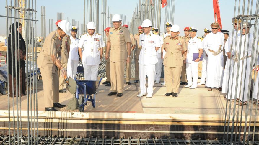 بدء الأعمال الإنشائية لمشروع المبنى الرئيسي لمركز الأمن البحري.. والافتتاح فبراير 2018