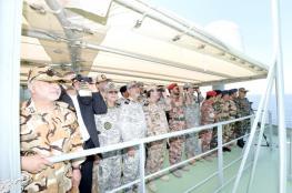 تنفيذ التمرين السنوي البحري بين البحرية السلطانية العمانية والقوات البحرية الإيرانية