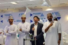 """فريق """"EVO3"""" من جامعة السلطان قابوس يفوز ببطولة الروبوت للجامعات"""