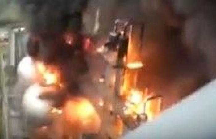 بالفيديو.. لحظة انفجار مفاعل نووي بفرنسا