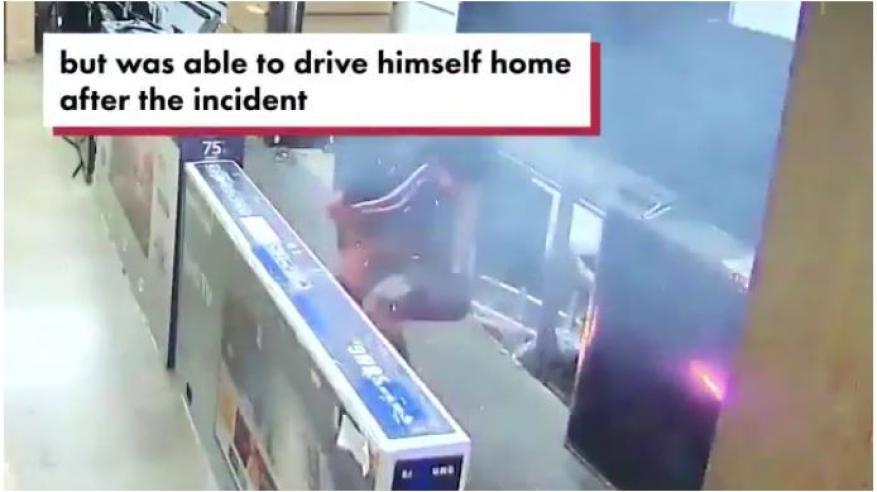 بالفيديو..شاهد كيف انفجرت سيجارة إلكترونية داخل جيب رجل