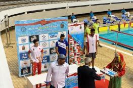 منتخب السباحة ينهي مشاركته في البطولة العربية بتحقيقه المركز الثالث