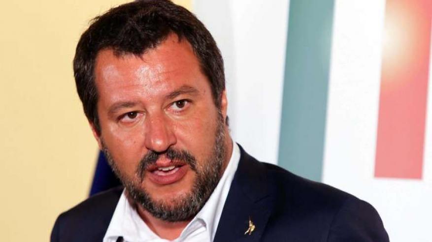 وزير الداخلية الإيطالي، ماتيو سالفيني