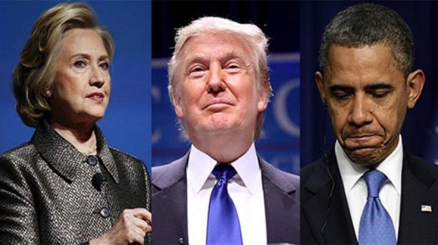ترامب يتهم أوباما وكلينتون بتأسيس داعش