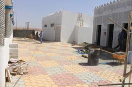 تواصل العمل في مشاريع مقبرة العراقي بعبري