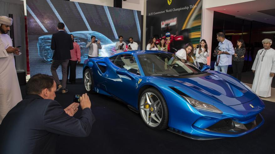 Ferrari F8 Tributo - Oman Launch 4
