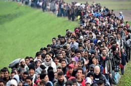 أول دفعة من مهاجري أمريكا الوسطى تقترب من الحدود الأمريكية