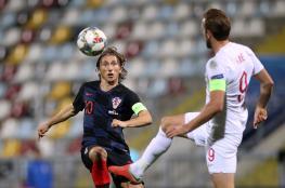 كرواتيا تتعادل امام إنجلترا في مباراة بدون جمهور
