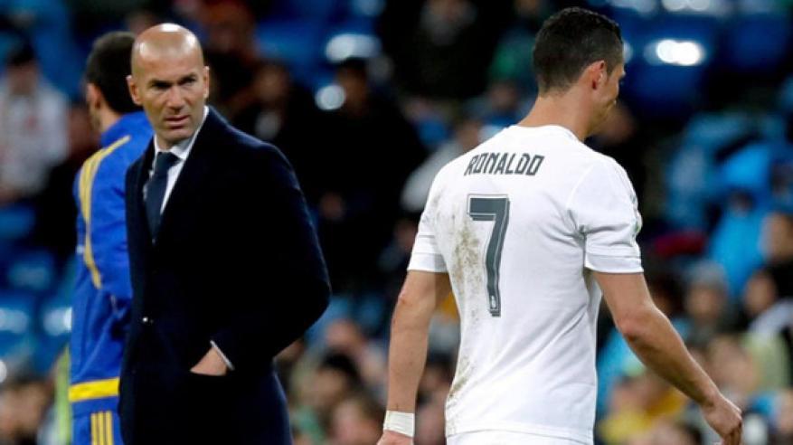 زيدان يكشف سبب الخلاف مع كريستيانو رونالدو