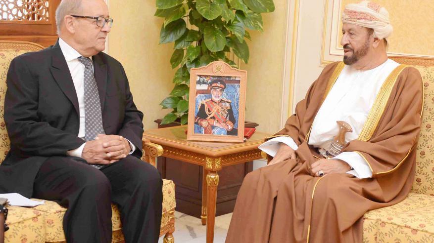 بدر بن سعود يناقش التعاون العسكري مع وزير الدفاع الفرنسي