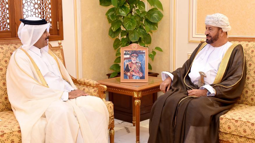 """بدر بن سعود يتسلم دعوة لحضور """"ديمكس 2018"""" بقطر"""