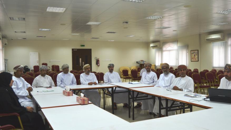 استعراض أنشطة مدارس الداخلية المشاركة في جائزة السلطان قابوس للتنمية المستدامة