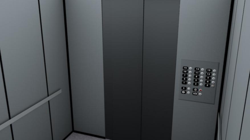 إصابة مواطن ومقيم إثر سقوط مصعد كهربائي بعبري