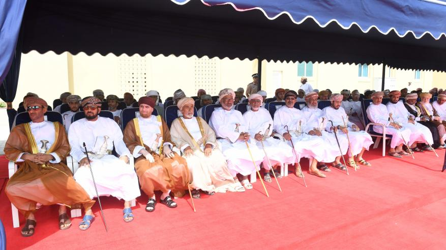 شرطة عمان السلطانية تحتفل بافتتاح مركز شرطة ثمريت4
