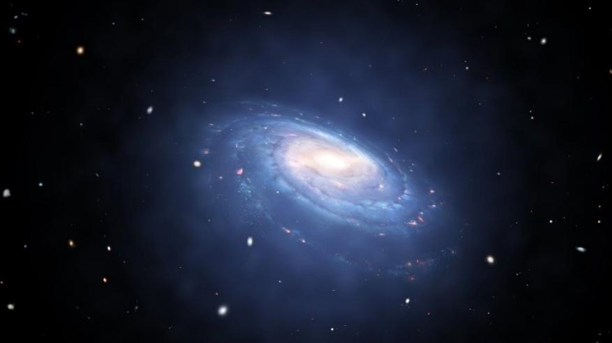 ما هو سر المادة السوداء التي تحيط بالكون؟