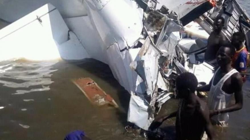 مقتل 17 على في تحطم طائرة بجنوب السودان