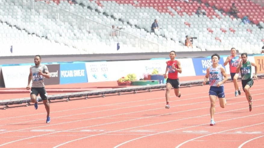 من مشاركة محمد السعدي في سباق 200 متر
