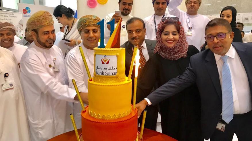 بنك صحار يحتفي بحصد أكثر من 100 جائزة في 11 سنة