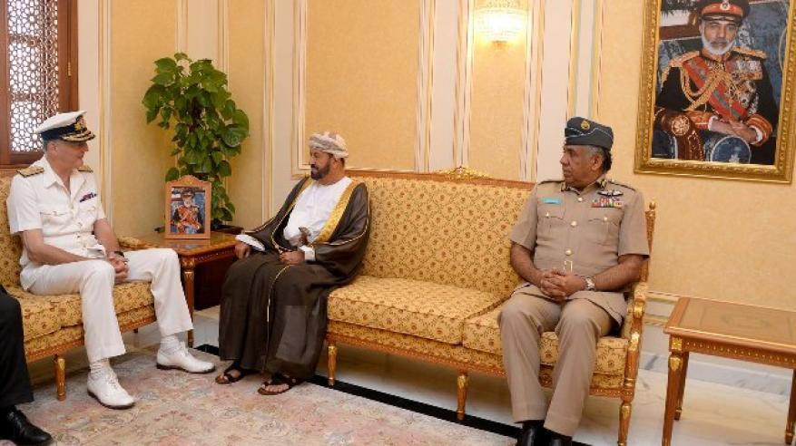 """بدر بن سعود يبحث مع مسؤول بريطاني التحضيرات لـ""""السيف السريع 3"""""""