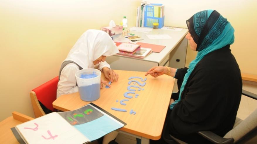 من الفصول التعليمية بمراكز الوفاء (2)