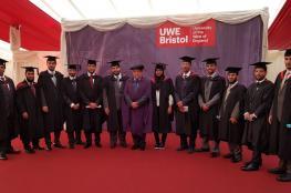 تخريج الدفعة الأولى من طلاب الكلية العالمية للهندسة والتكنولوجيا من بريطانيا