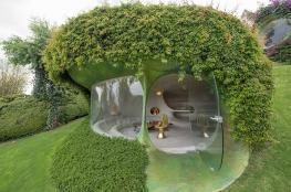 شاهد..منزل غير مرئي في المكسيك باستخدام الهندسة العضوية
